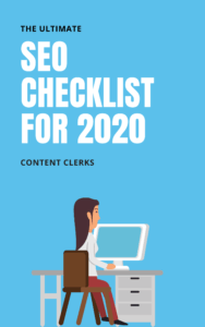 SEO checklist for 2020 - Content Clerks